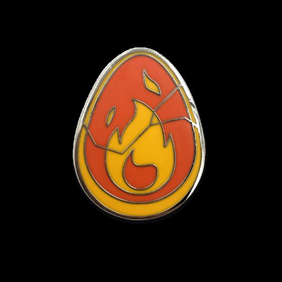 Crimson Dofus pin
