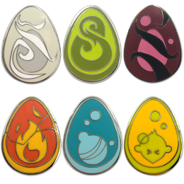 Pack of 6 Dofus pins