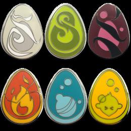 Pack of 6 Dofus pins