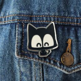 Bow Meow Pin