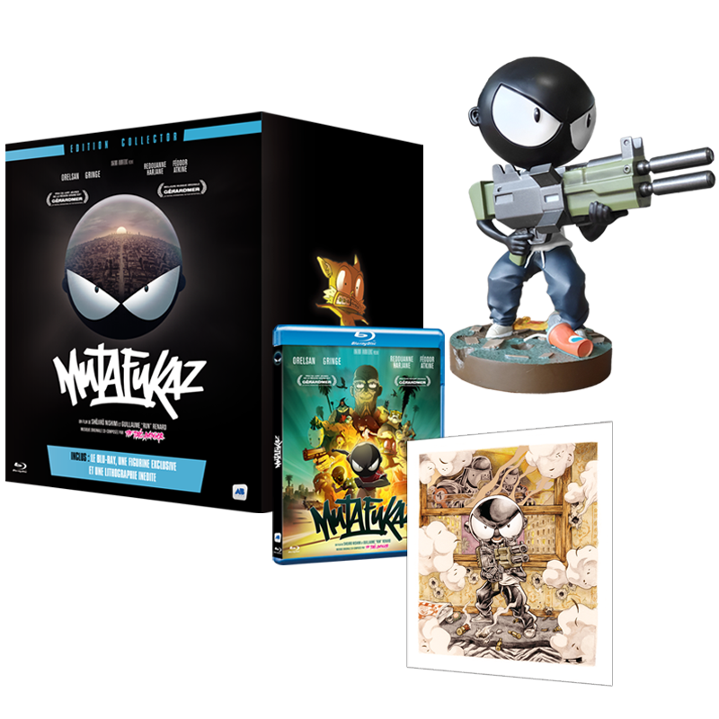 Mutafukaz The Movie Blu Ray Collector S Edition Goodies