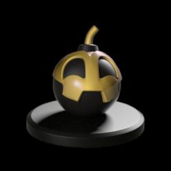 Fire Bomb – Krosmaster Figurine