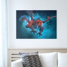 Displate Metal Poster - Tylezia (size M, 17.7 x 12.6 in)
