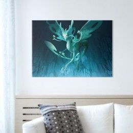 Metal Poster - Aguabrial (size M, 17.7 x 12.6 in)