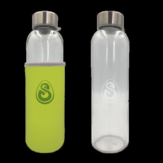 Glass DOFUS water flask