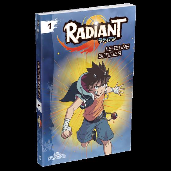 Roman Radiant Tome 1 - Le jeune sorcier