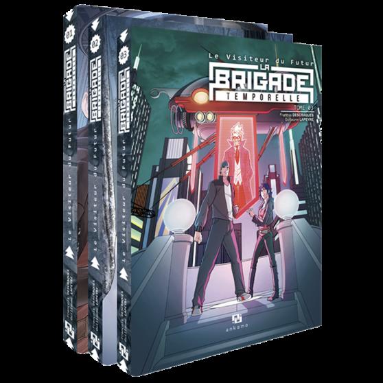 Le Visiteur du futur : La Brigade temporelle - L'intégrale