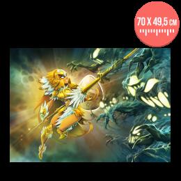 Affiche Ilyzaelle – relief & effet doré