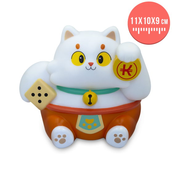 Ecaflip Maneki-Neko coin bank - Collector's figurine