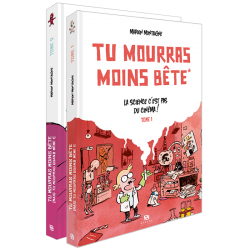 Tu mourras moins bête - Pack 2 tomes