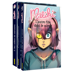 Maliki Novel - Complete 3-volume edition