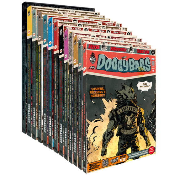 DoggyBags: Season 1 – Complete Edition (13 volumes)
