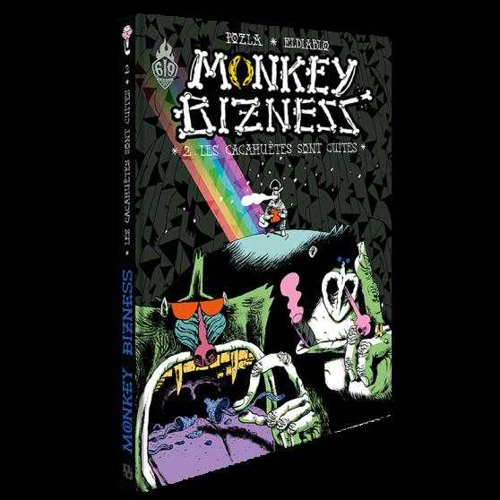 Monkey Bizness Volume 2: Les Cacahuètes sont cuites
