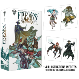 Freaks' Squeele Boxed Set – Volumes 1 through 4