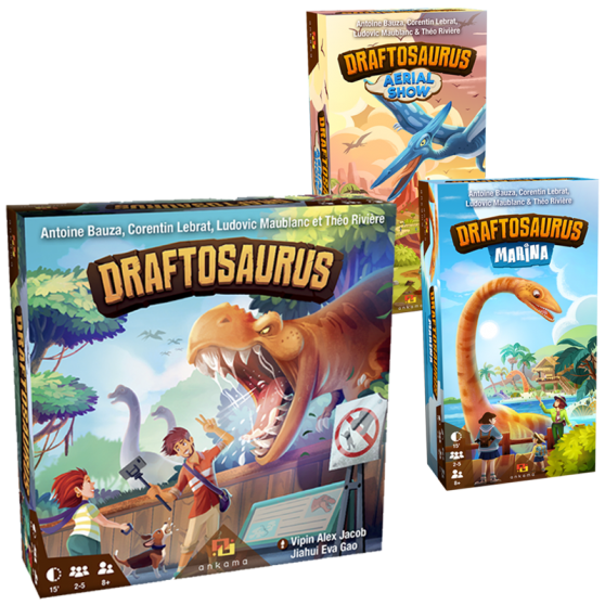 Pack Draftosaurus (version française)