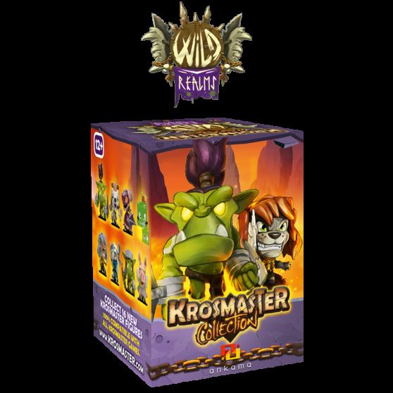 "Krosmaster Arena Blind Box – ""Wild Realms"" (italian version)"