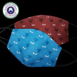 Pack of 2 Bonta and Brakmar masks (Category 1)