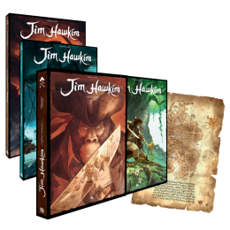 Jim Hawkins – Complete 3-Volume Edition – Collector's Boxed Set