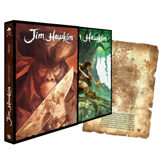 Coffret Collector Jim Hawkins Tome 3