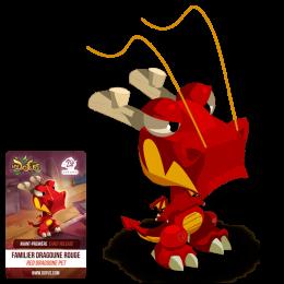 Peluche Dragoune Rouge XL – Édition Anniversaire 20 ans
