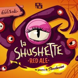 Pack of two 750 ml beers – La Shushette