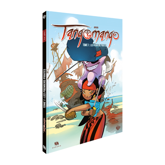 WAKFU Heroes : Tangomango Tome 1 - Les premiers pirates