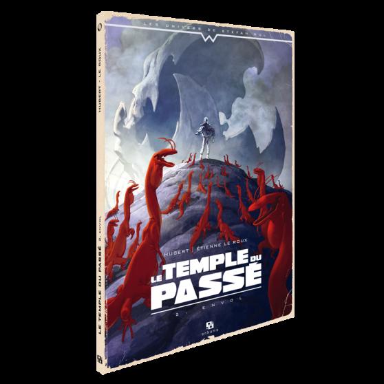 Le temple du Passé Tome 2 : Envol
