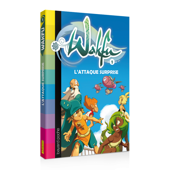 WAKFU Volume 1: L'attaque surprise – Novel
