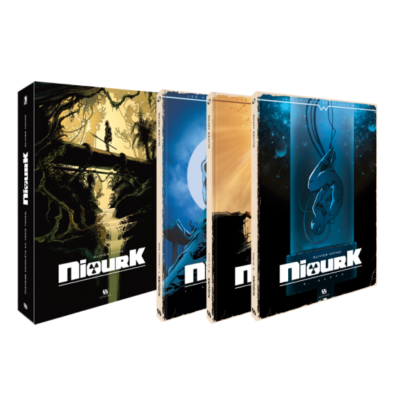 Niourk Volumes 1 to 3 – Complete Boxed Set