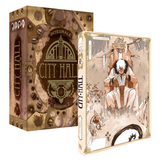 City Hall Coffret Tome 7