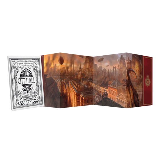 City Hall: Le jeu d'aventures – Screen + Scenario Booklet