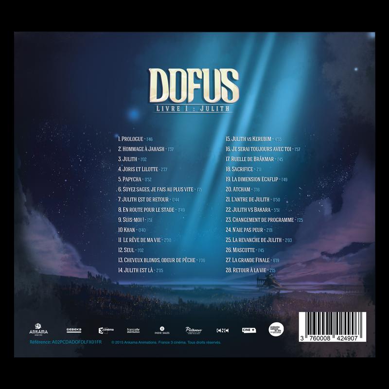 The Dofus Movie Original Soundtrack Cd