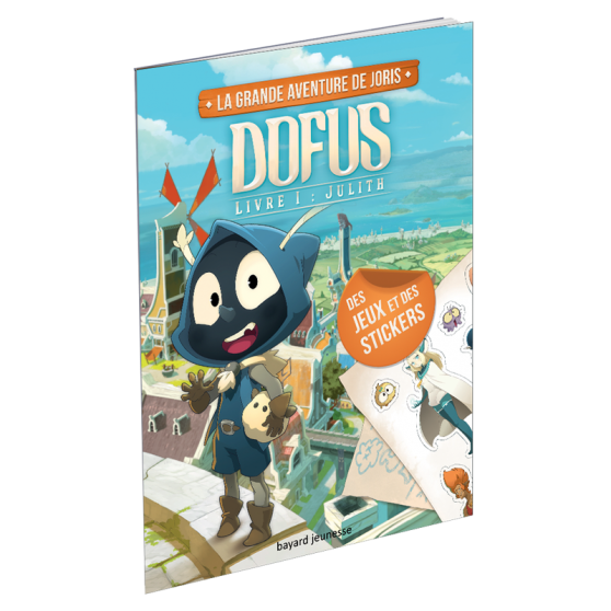 La grande aventure de Joris – Dofus Book I: Julith – Activity Book
