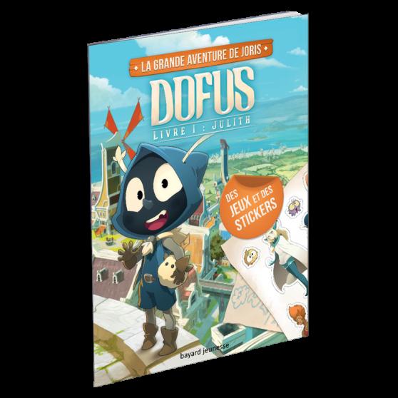 Livre d'activités, la grande aventure de Joris – Dofus Livre I : Julith