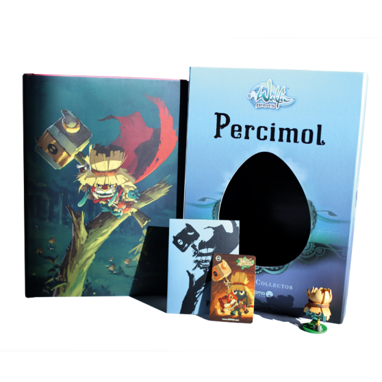 Coffret Collector WAKFU Heroes Tome 2 : Percimol