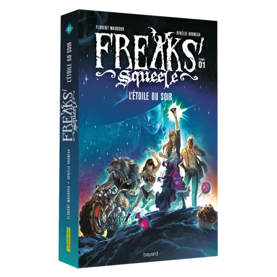 Freaks' Squeele Volume 1: L'Étoile du soir – Novel